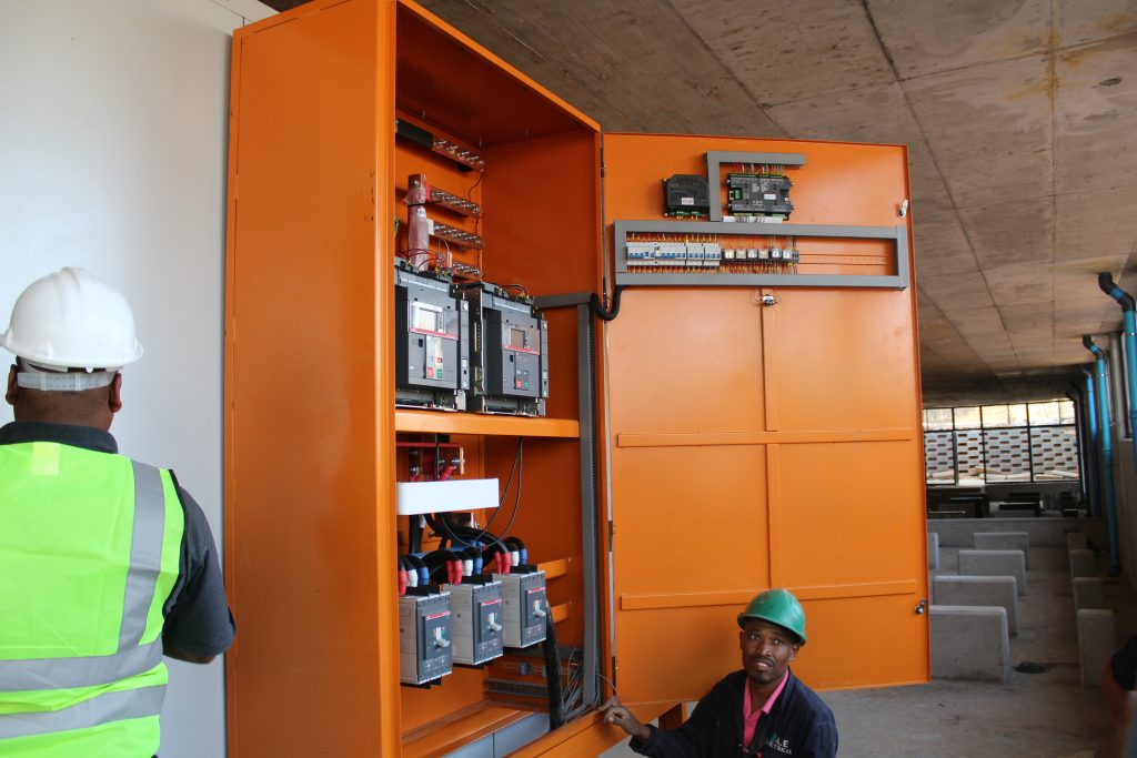 ABB Electrical panel for Generator